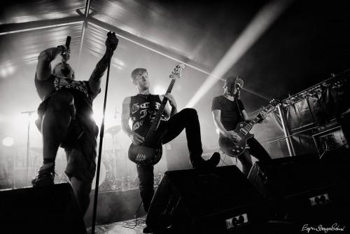 Motorfinger plays at RockArt festival, Holmestrand, Norway - 23.7.2015