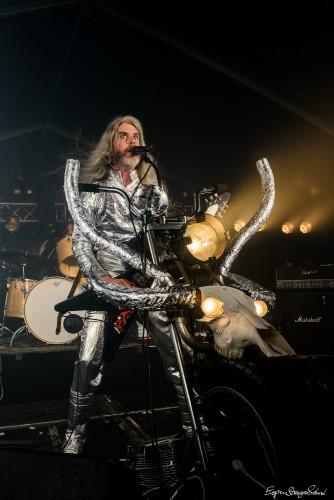 Black Debbath plays at RockArt festival, Holmestrand, Norway - 23.7.2015