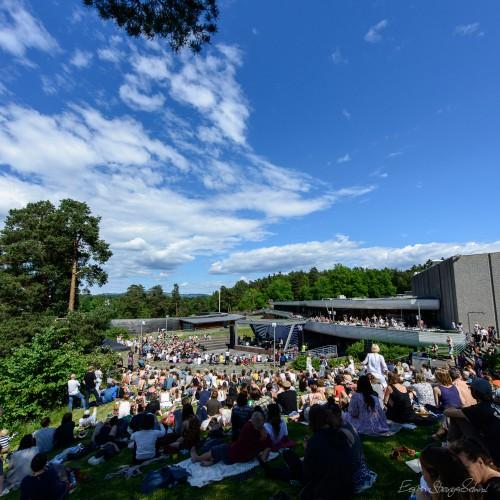 Jaga Jazzist concert at Henie Onstad Kunstsenter, Høvik, Norway 2016-06-12.