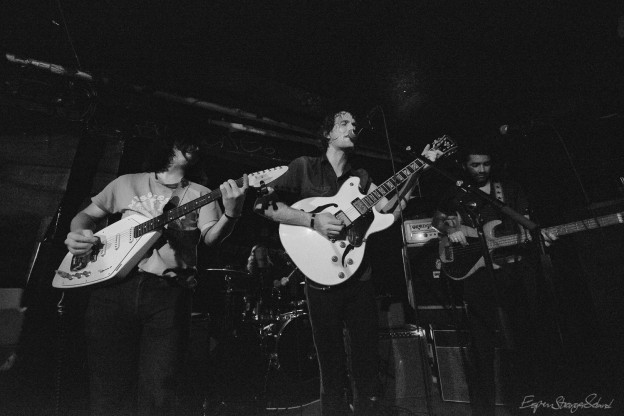 The Mystery Lights, playing at Revolver, Oslo, Norway 2016-08-26