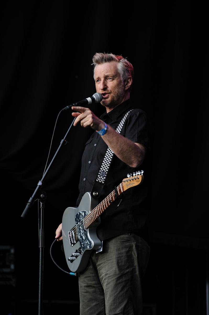 Billy Bragg, Øyafestivalen 2012, Oslo.