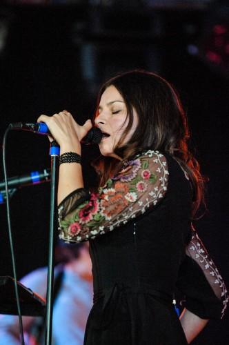 Hope Sandoval, Mazzy Star, Øyafestivalen 2012, Oslo.