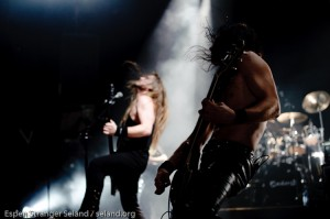 Enslaved, playing at Rockefeller Music Hall, Oslo, Norway, 2008-12-18