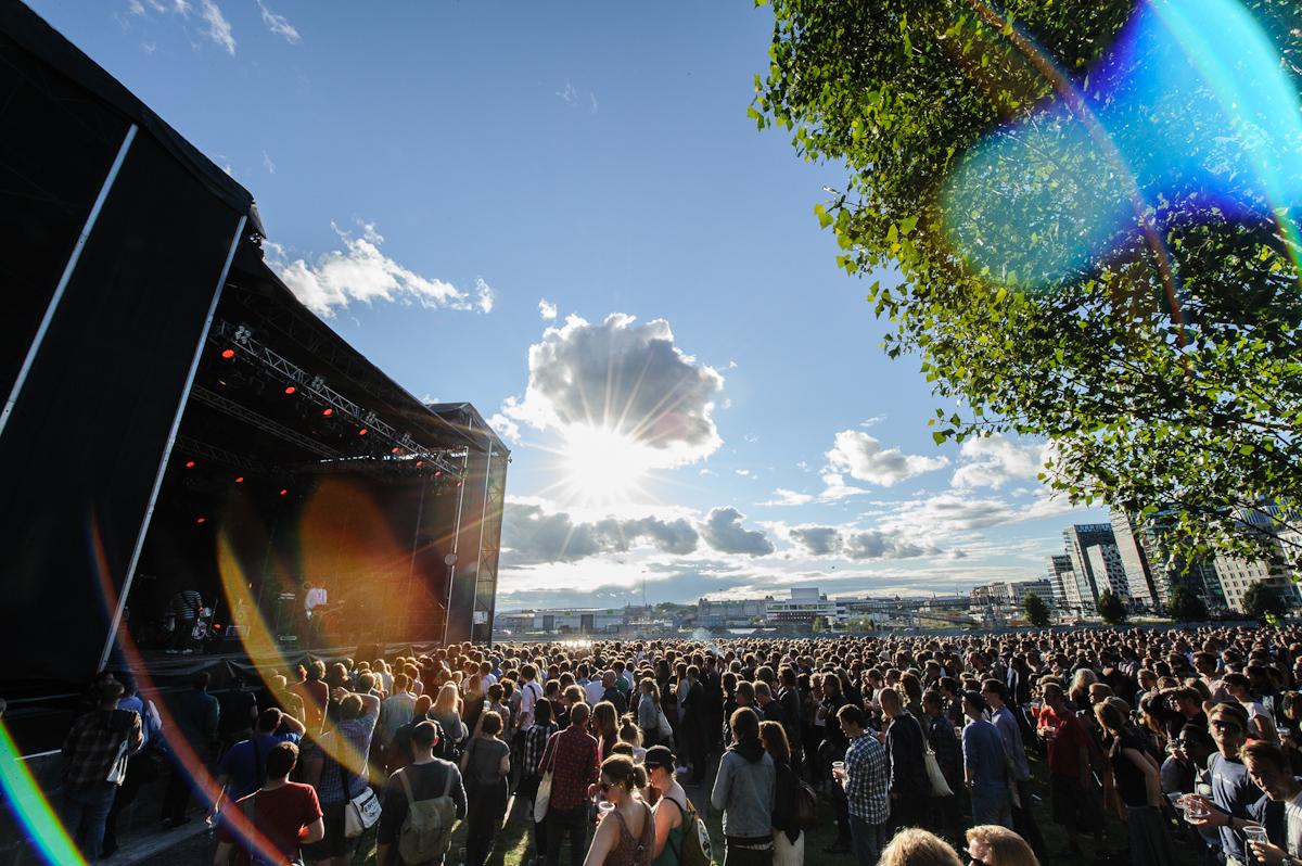 Thurston Moore. Øyafestivalen 2012, Oslo.